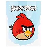 nero Angry Birds Comc bambini 6,9x5,3cm Toppe termoadesive