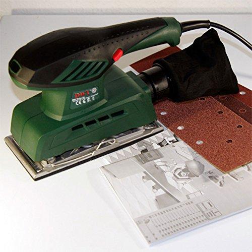 DWT Schwingschleifer Schleifmaschine 200 W Schleifer, Schleifplatte 90 x 187 mm - ESS02-187 T