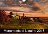 Monuments of Ukraine 2018 (Wall Calendar 2018 DIN A4 Landscape): The best photos from Wiki Loves Monuments, the worlds l