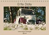 Ente Dolly - Lebendige Nostalgie (Tischkalender 2019 DIN A5 quer): Wunderbare Fotografien eines 2 CV Dolly. (Monatskalender, 14 Seiten ) (CALVENDO Technologie)