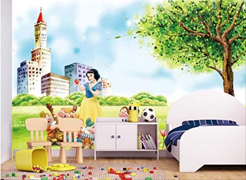 Disney-prinzessin Cartoon Für Jungen Und Mädchen Zimmer Kinder Zimmer Hintergrund Wand Tapete Höhe 250cm * Breite 175cm das A - Disney Mädchen, Tapete, Kinder,