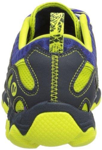 Merrell Hurricane Lace, chaussures aquatiques homme Bleu (Navy/High Viz)