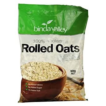 Binda Valley Rolled Oats, 500g Pouch
