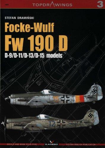 Focke-Wulf Fw 190 D (Top Drawings) por Stefan Draminski