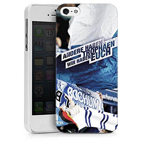 Apple iPhone 7 Silikon Hülle Case Schutzhülle VfL Bochum Fanartikel Fussball Hard Case weiß