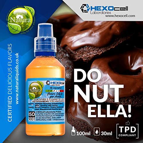 E LIQUID PARA VAPEAR - 30ml DONUTELLA Donuts De Chocolate