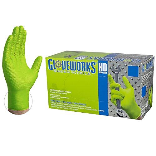 AMMEX GWBG46104E0BX Guantes de nitrilo desechables