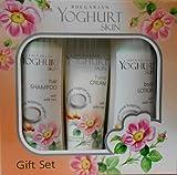 YOGHURT SKIN Geschenkset für Damen, mit Bodylotion, Shampoo und Handcreme