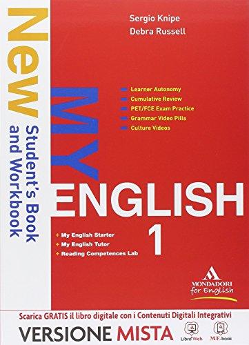 New my english. Con Reading competences lab-Starter-Myenglish tutor. Per le Scuole superiori. Con e-book. Con espansione online: 1