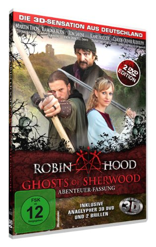 Robin Hood: Ghosts of Sherwood (Abenteuer-Fassung) (inkl. anaglypher 3D DVD und 2 Brillen) Preisvergleich