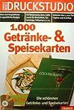 Druckstudio - 1000 Getr�nke- & Speisekarten Bild