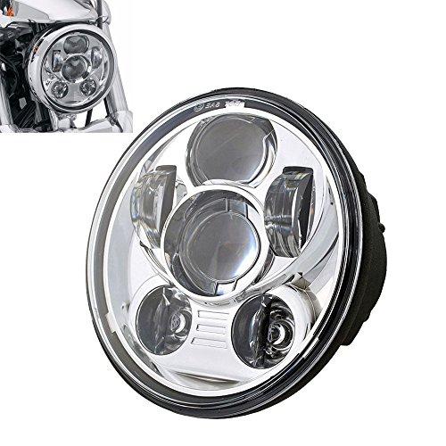 """Preisvergleich Produktbild HUMTOU 5 3/4"""" 5.75"""" Zoll Chrom Daymaker LED Scheinwerfer für Harley Davidson Motorrad"""