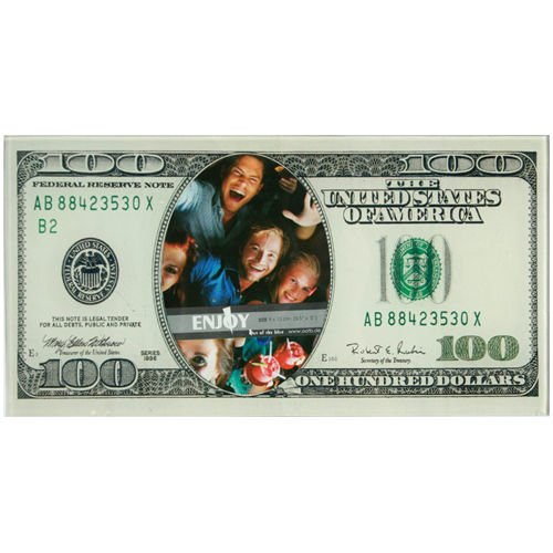 100-dollar-bill-note-money-glass-picture-photo-frame-novelty-home-stand-new-