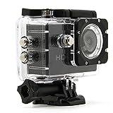 BOSIT WiFi Sport Action Kamera DVR Full HD 1080P 12MP 2.0 Wasserdicht bis zu 30 M Tauchkamera mit einem Satz von professionellen Zubehör-Kit Unterwasser-Videokamera, schwarz