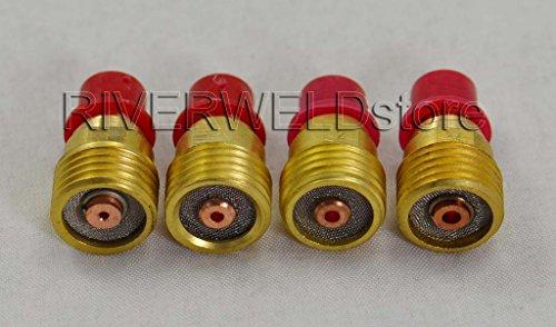 TIG Gas Lens collet Corps KIT 45V43 ~ 45V45 Pour SR WP24 9 20 25 Torche de soudage TIG ,4pcs