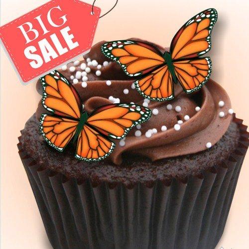 Gluten GMO Dairy Sugar Nut Free Butterfly (Vegan Halloween-dessert)