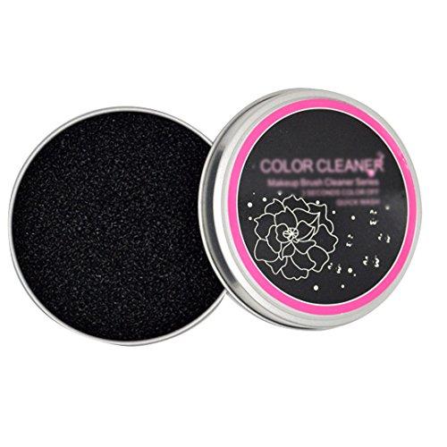 AISI Pinceaux de maquillage Couleur retrait Cleaner éponge Ombre Couleur rapide à nettoyer