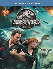Jurassic World: Fallen Kingdom (3D BluRay + BluRay)
