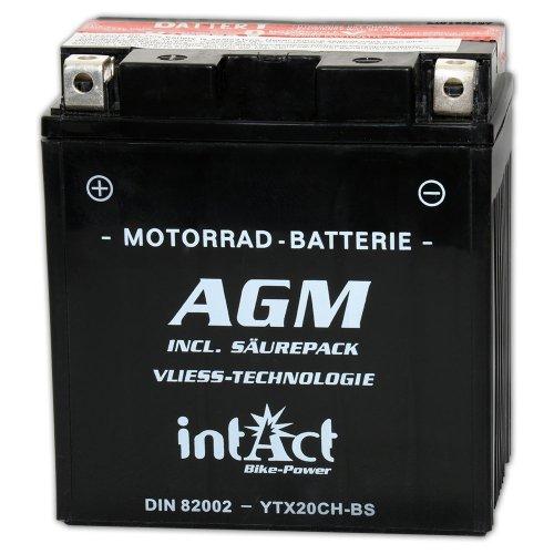 Preisvergleich Produktbild intact Bike-Power AGM 12V 18Ah 82002 YTX20CH-BS