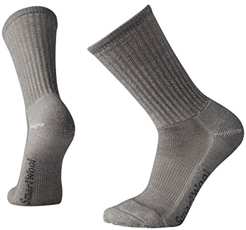 Smartwool - Hike Light Crew - Chaussettes - Mixte Adulte - Gris (Light Grey) - EU: 42-45 (Taille Fabricant: L)