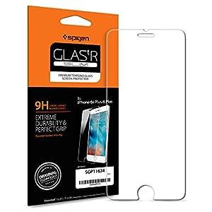 [Italia Premium Ver.] Spigen® Pellicola Vetro Temperato 6s Plus / 6 Plus, [FREE Install Wings] [Anti-riflesso Ultra-Clear] Ultra resistente in Pellicola vetro temperato Apple 6s Plus / 6 Plus, Pellicola Protettiva iPhone 6s Plus / 6 Plus (SGP11634)