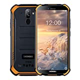 DOOGEE S40 Outdoor Handy 4G Dual SIM 3GB+32GB, IP68 /IP69K Wasserdicht Smartphone ohne Vertrag Android 9.0, 4650mAh Akku 5.5 Zoll Quad-core, 8MP+5MP Kamera, NFC Fingerabdruck Gesicht ID - Orange