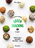 green snacking barres et balls hautement prot?in?es vegan