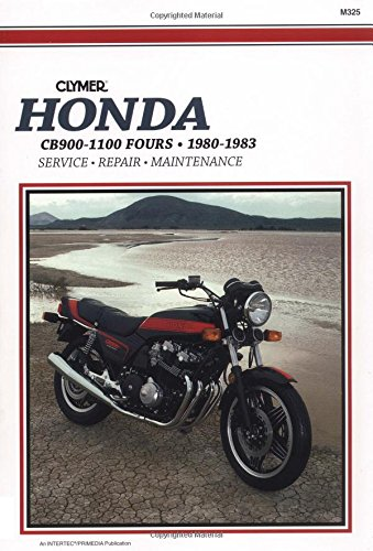 Honda Cb900-1100 Fours 80-83: Clymer Workshop Manual por Penton