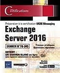 Exchange Server 2016 - Pr�paration �...