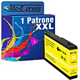 PlatinumSerie® 1 Ersatz-Patrone ersetzt HP951XL Yellow HP Officejet Pro 8600 Plus E-All-In-One 8615 E-All-In-One 8660 E-All-In-One