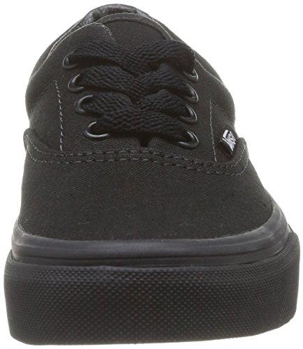 Vans K Era, Baskets mode mixte enfant Noir (Blk/Blk)