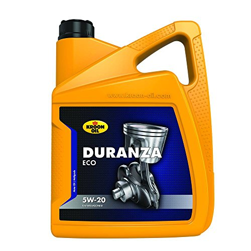 Kroon Oil 1838153 Duranza ECO 5W-20 5-Liter, Braun