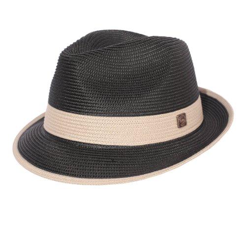 Dasmarca - Chapeau Trilby Pliable Homme ou Femme Florence - Taille L