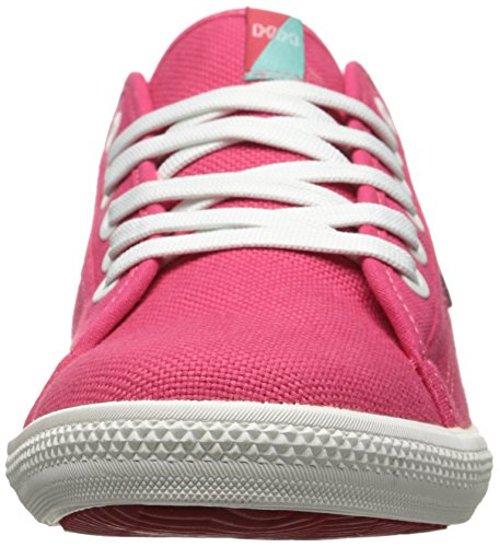 Helly Hansen W OSLOFJORD CANVAS, Baskets basses femmes femme Rose - Pink (241 PINK SHAKE / OFF WHITE / M)