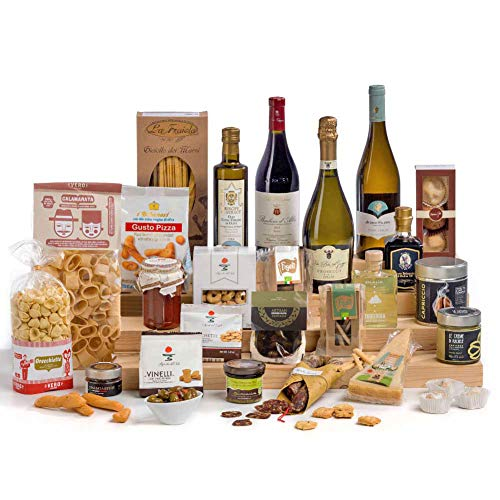 Il Grande Italian Gourmet Food & Wine Hamper - FREE UK delivery (Gift Box)