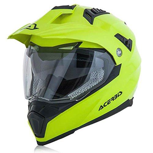 Acerbis casco flip fs-606 giallo 2 l