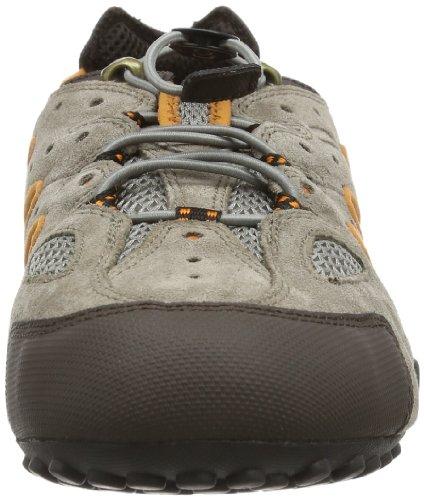 Geox UOMO SNAKE J Herren Sneakers Beige (TAUPE/DK ORANGEC6671)