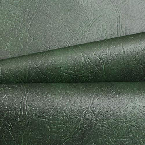 ANTIQUE GREEN LUXURY EXPANDABLE FIRE RETARDANT WATER PROOF SOFA CAR SEATING COVERS UPHOLSTERY FAUX LEATHER LEATHERETTE VINYL FABRIC 1 M FIRE CERTS PROVIDED ON REQUEST