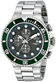 Invicta Analog Grey Dial Men's Watch - 1...