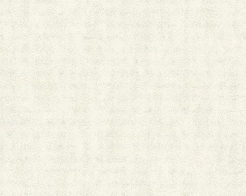 Schöner Wohnen Vliestapete Tapete Unitapete 10,05 m x 0,53 m creme Made in Germany 958702 95870-2
