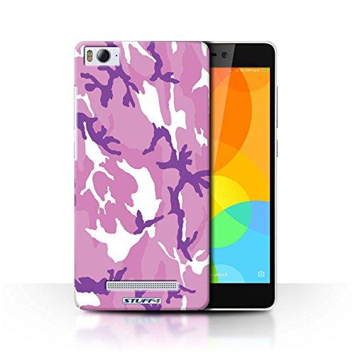 Stuff4® Hülle/Hülle für Xiaomi Mi 4i / Rosa 4 Muster/Armee/Tarnung Kollektion