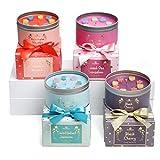 The Gift Box Le Candele in Confezione Regalo di Latta Four Pack - Luxury Serene