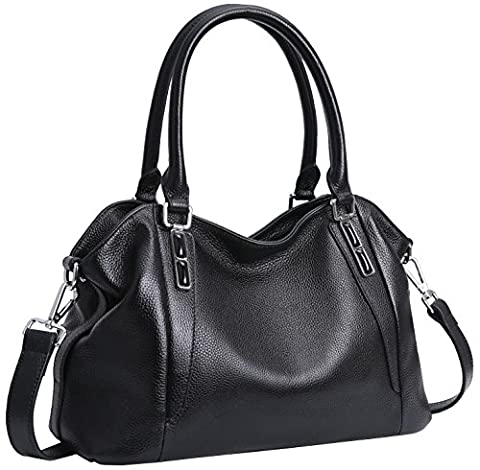 Iswee Women's Leather Shoulder Bags Tote Satchel Handbags Purse Fashion Design for Ladies and Girls