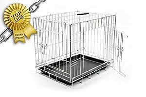 Duvo+ 780/471 Cage de Transport avec Pied Antidérapant pour Chien