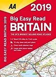 AA Big Easy Read Atlas Britain (Aa Road Atlas Britain)