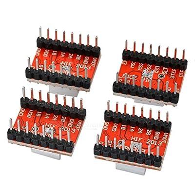 A4988 Schrittmotortreiber Modul für RepRap 3D Drucker 4 Stk.