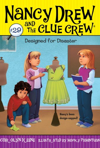 Designed for Disaster (Nancy Drew and the Clue Crew, Band 29) (Crew Stores Clothing)