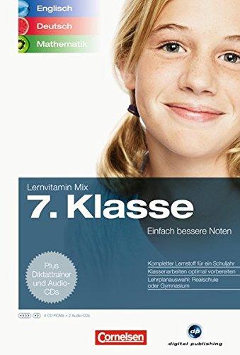 Lernvitamin Mix - Englisch/Deutsch/Mathe 7. Klasse