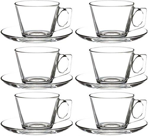 12piezas. Juego tazas de café con platillo de vela
