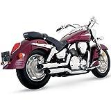 Vance und Hines Cruiserboards Komplette System Auspuff für Yamaha 2004–14V-Star...